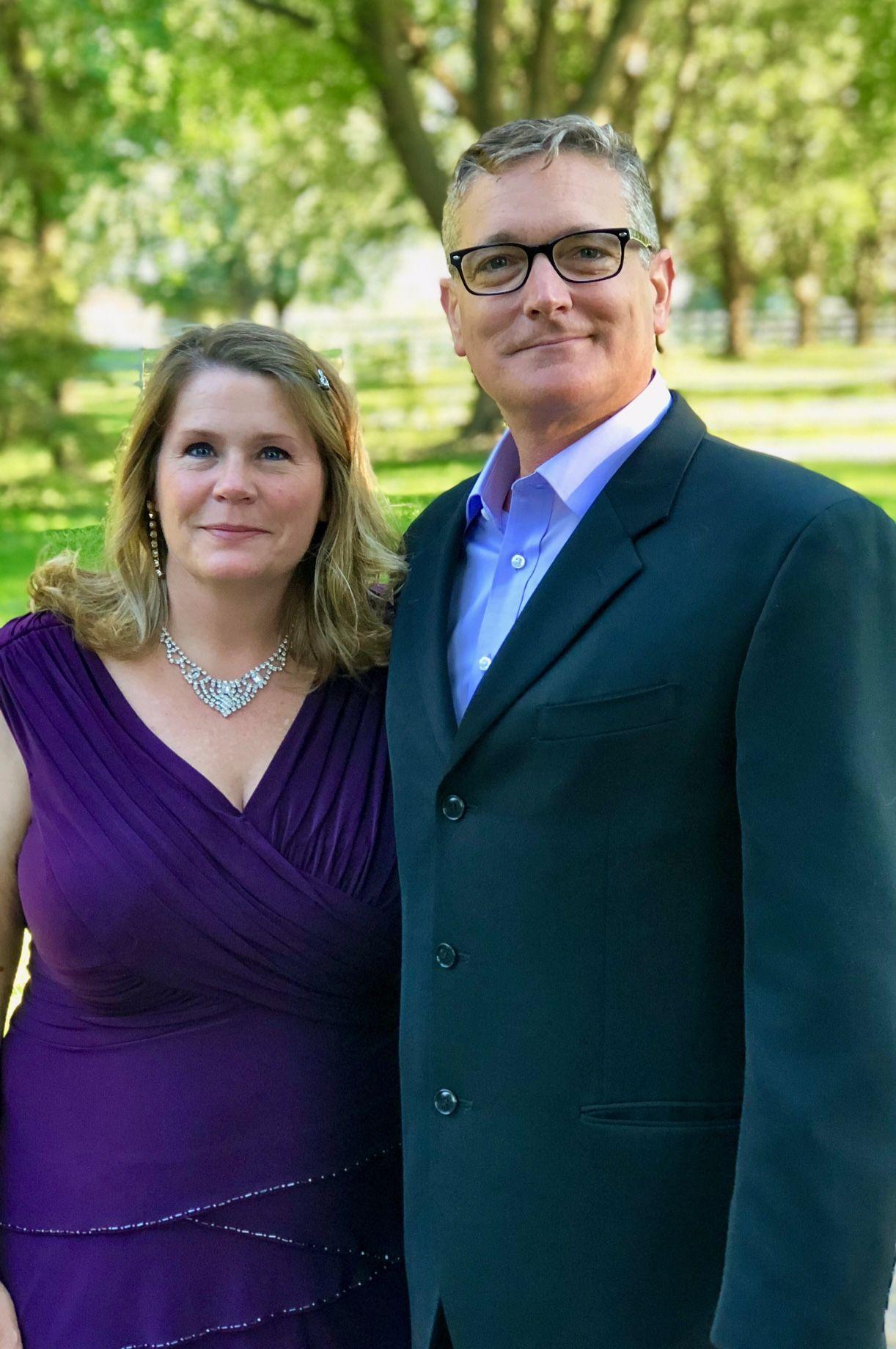 Scott and Wendy Schumacher, at age 47, married 26 yrs, 3