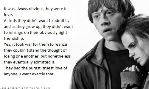 Harry Potter Confessions Harry Potter Obsession Harry Potter Love Ron And Hermione