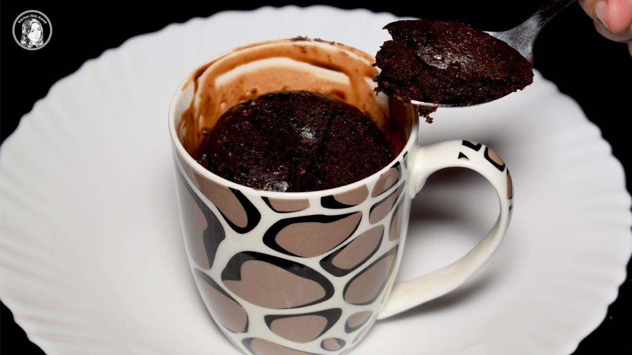 Chocolate Mug Cake Without Microwave Oven - Simple ...