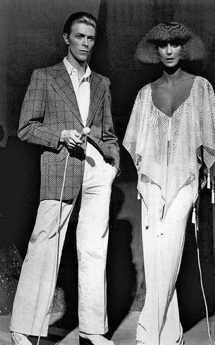 David Bowie and Cher , The Cher Show, November 1975
