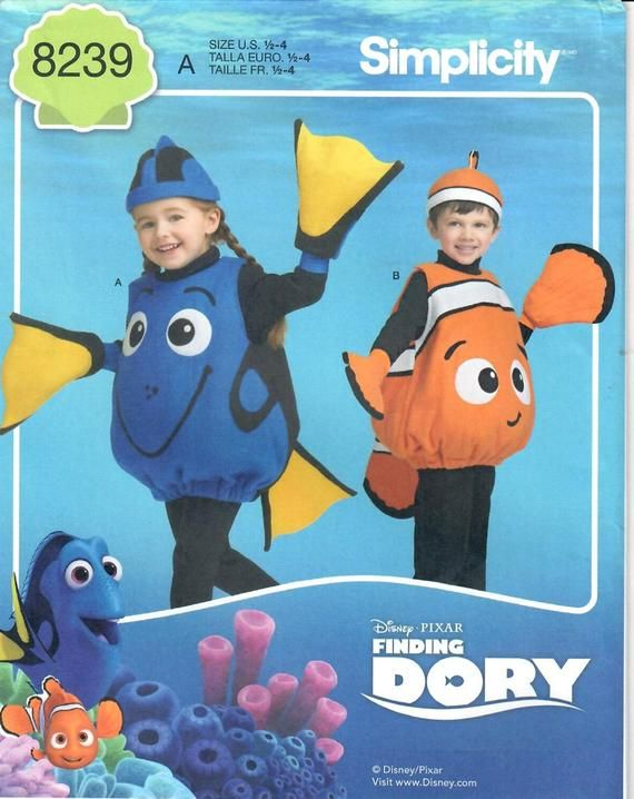 Disguise Disney/'s Finding Dory Girls Dory Classic Child Costume Fit up to Size 6