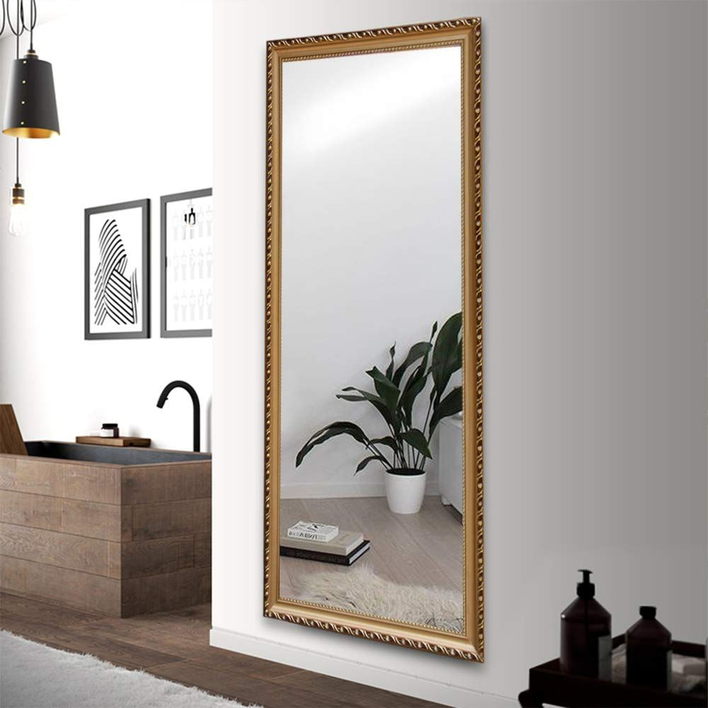 Gold Mirror Frame Floor Length