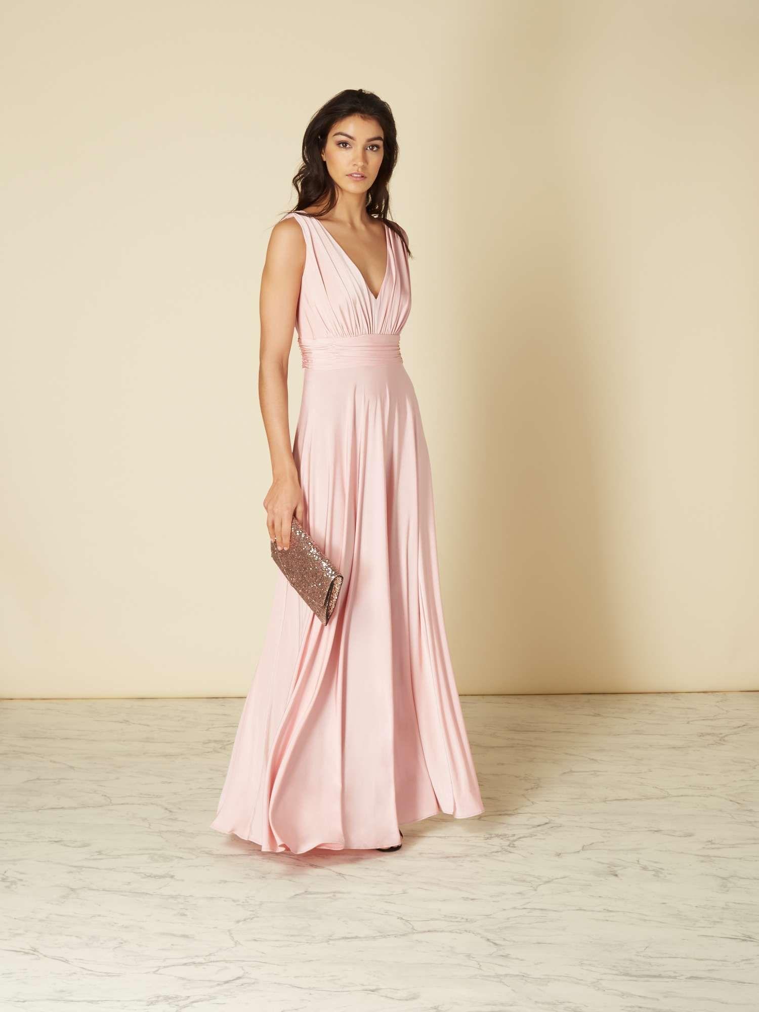 3afb3f428 ISSA Olivia Deep V-maxi Dress - House of Fraser | Bridesmaid dresses ...