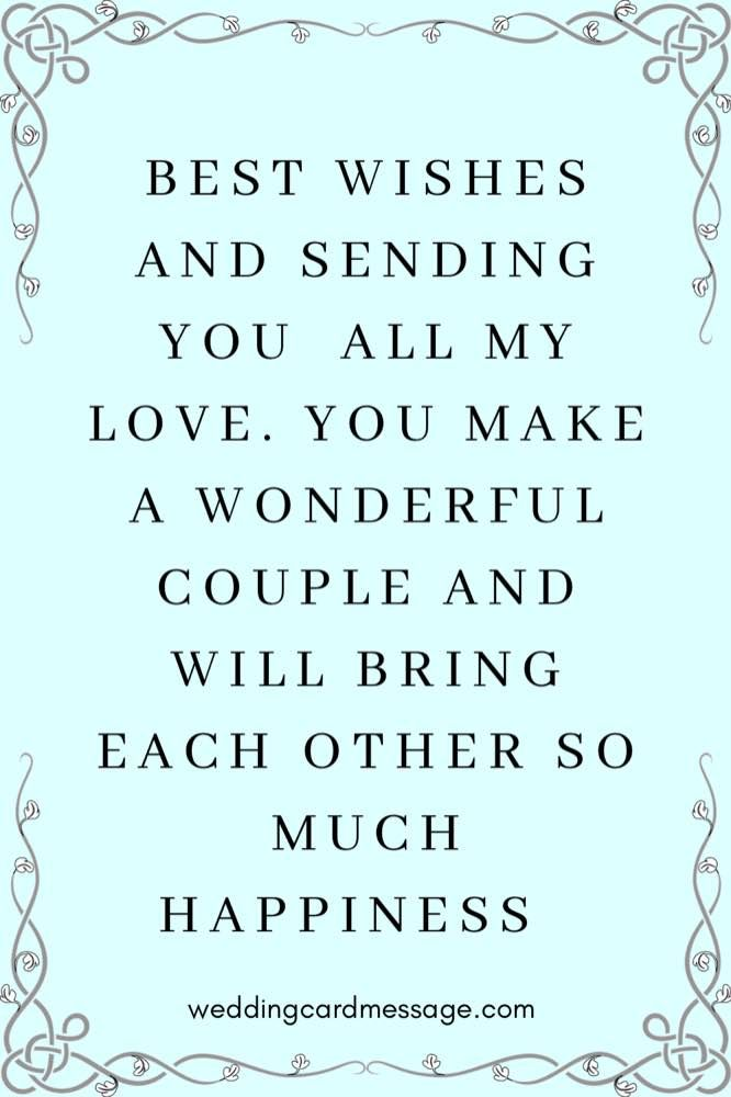 33 Wedding Wishes for a Sister - Wedding Card Message