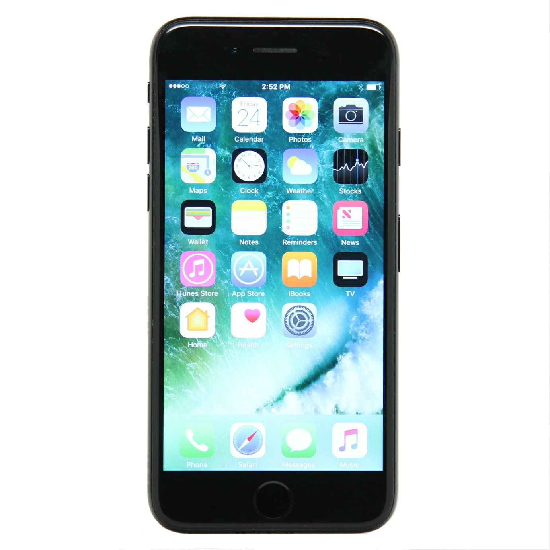 Apple Iphone 7 Fully Unlocked 32gb Black Refurbished Iphone Deals Apple Iphone Unlocked Cell Phones