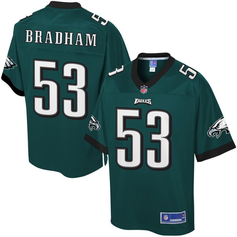 Nigel Bradham Philadelphia Eagles NFL Pro Line Youth Player Jersey - Midnight  Green a6507f09e