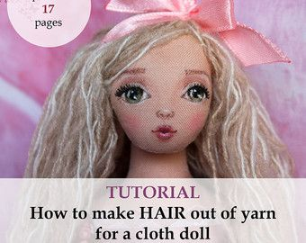 How to draw face Tutorial cloth doll pdf step by step ...