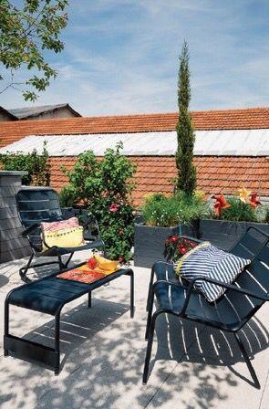 Fermob | jardin | Pinterest | Terrasse jardin, Terrasses et Extérieur