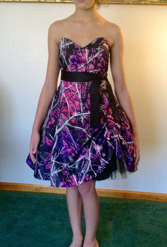de6f03084 Muddy Girl Camo Dress by CamoGownsAndMore on Etsy. Cute Bridesmaid Dress?