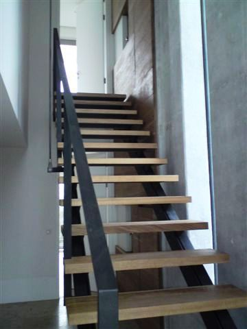 Open Tread Stair Construction See more http://awoodrailing ...