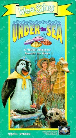 Wee Sing The Best Christmas Ever Vhs.Wee Sing Under The Sea Vhs Best Selling Children Movies