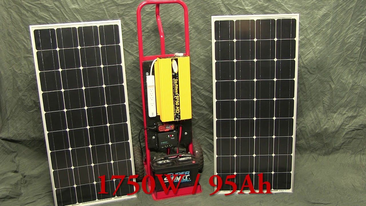 Diy Solar Generator Portable Power At A Fraction Of The Cost With Bu With Images Solar Energy Panels Best Solar Panels Solar Generator