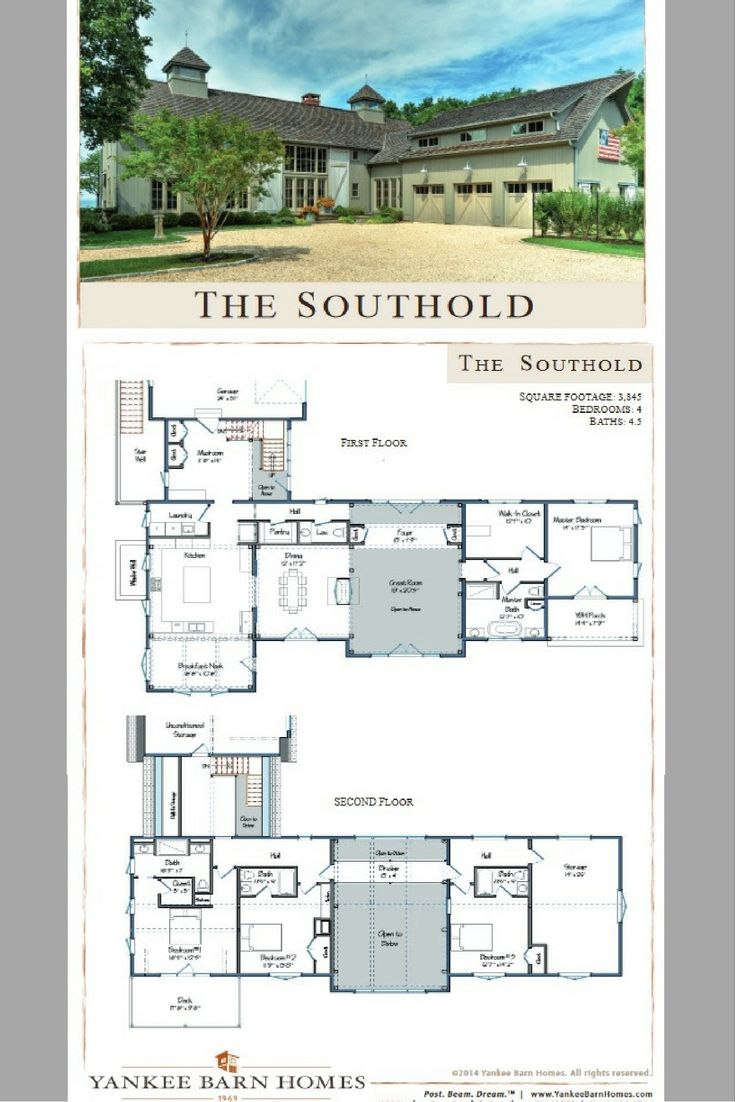Southold Barn House Plans House Blueprints Yankee Barn Homes