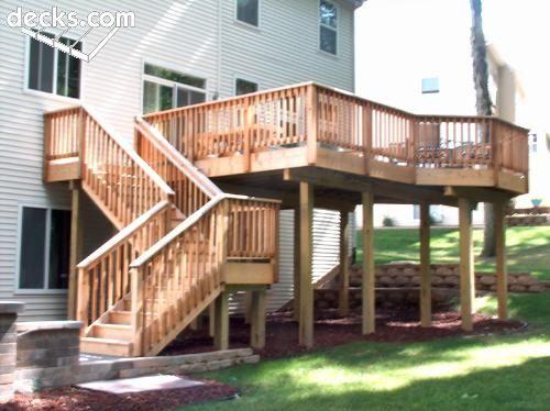 Second Story Deck Building A Deck Deck Design Gazebo