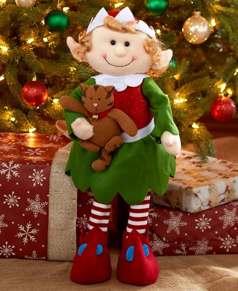 Decorative Holiday Elves Elf Christmas Decorations Elf Decorations Decorative Holiday