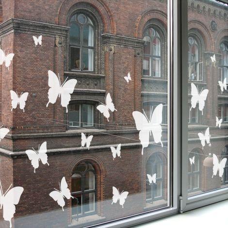 Raamstickers Butterfly van Studio Haikje. #windowstickers #raamstickers #vlinders #butterflies #raamsticker #studiohaikje #papillon #raambekleding