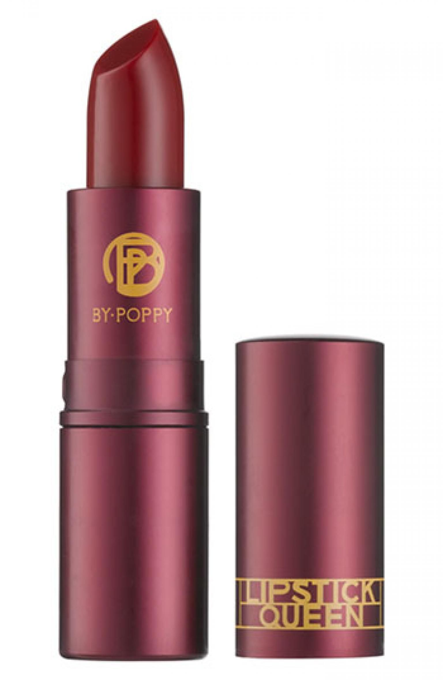 Lipstick Queen in Medieval // Nervous about trying red lips?  This subtle shade is the perfect entry-level red.