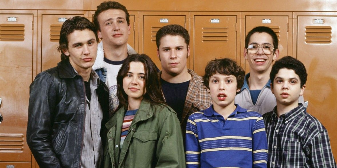 The cast of Freaks and Geeks in Freaks and Geeks 20 Great TV Shows Canceled After One Season