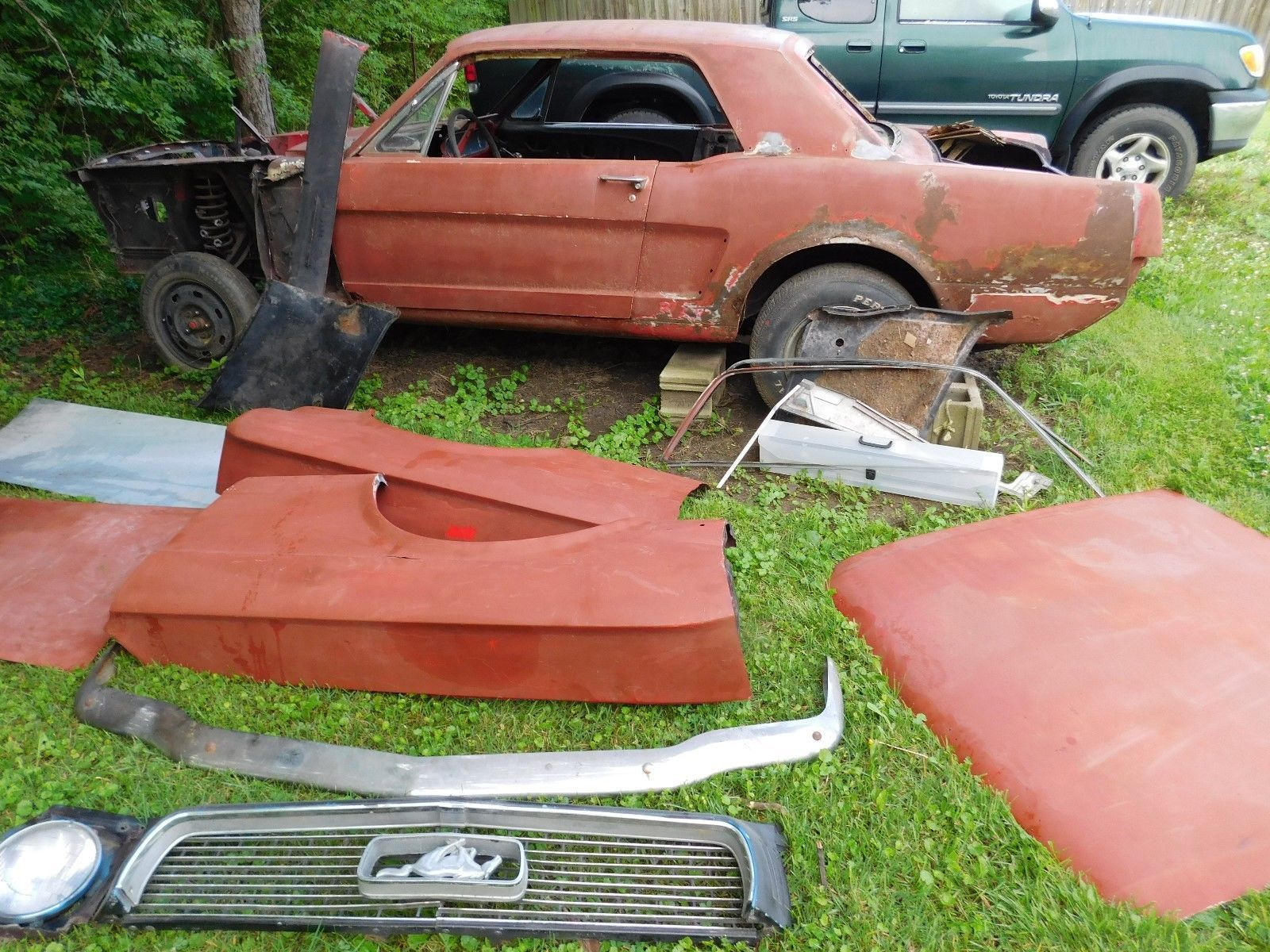 Needs total resto 1964 Ford Mustang project   Project cars for ...