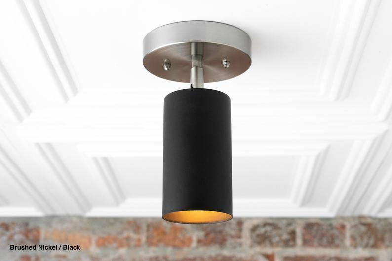 Spotlight Directional Lighting Spot Light Modern Etsy Modern Ceiling Light Modern Lighting Brass Wall Light