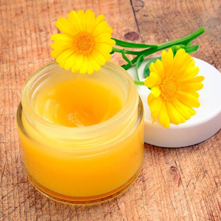Diy diaper rash cream with beeswax calendula recipe