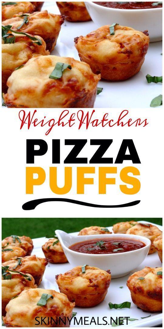 Pizza Puffs – skinnymeals #weightloss