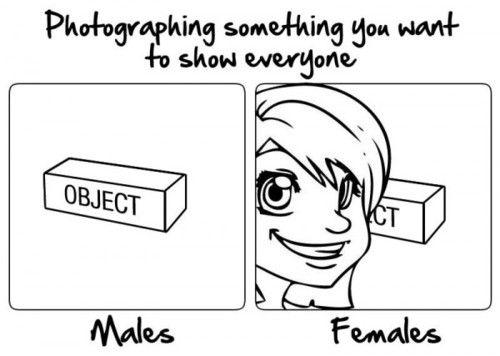 Man Vs Woman Photography- Lol Jaja