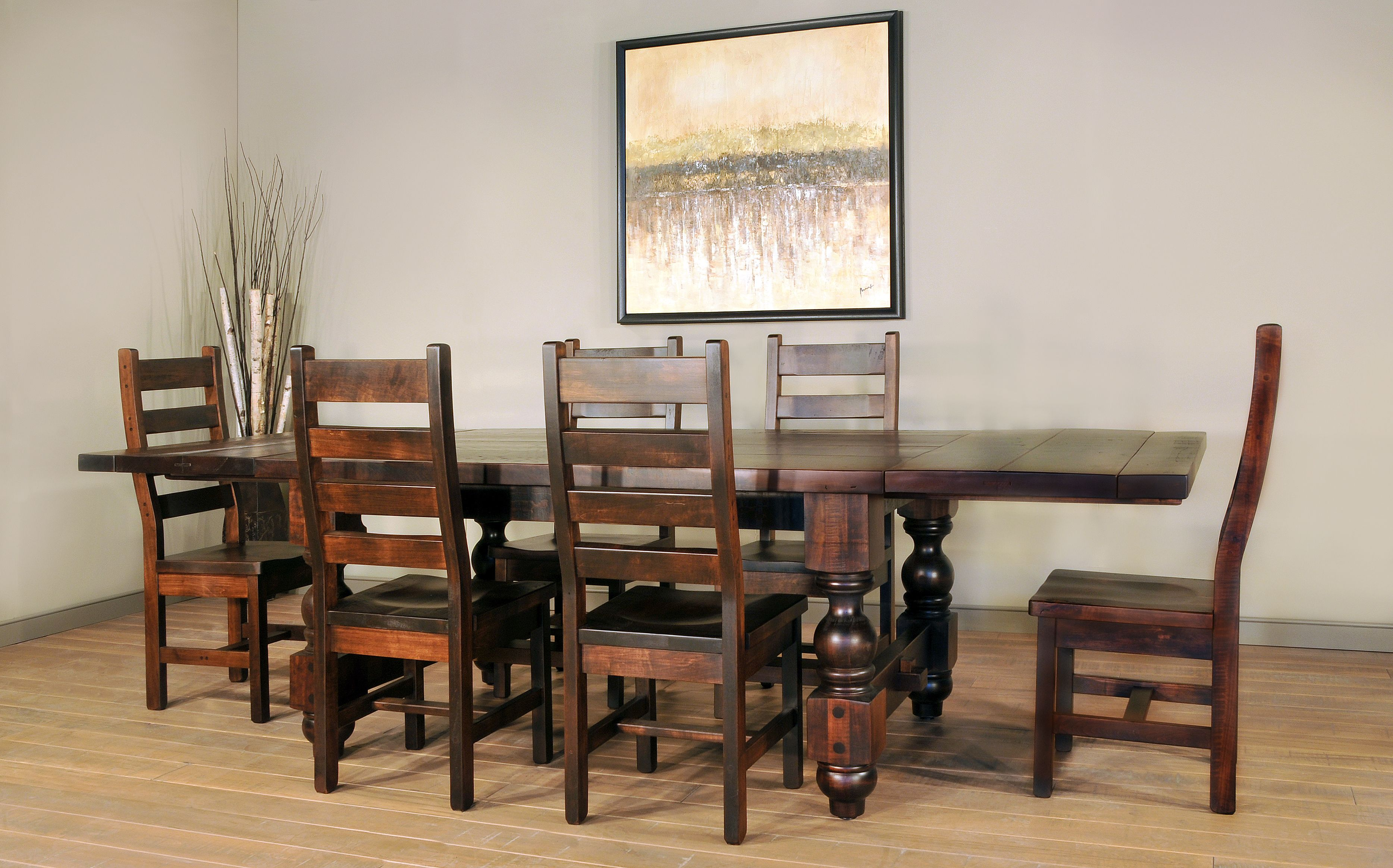 Toledo Table Chairs Rustic Furniture Dining Room Kitchen Upgrades Woodworking Techniques