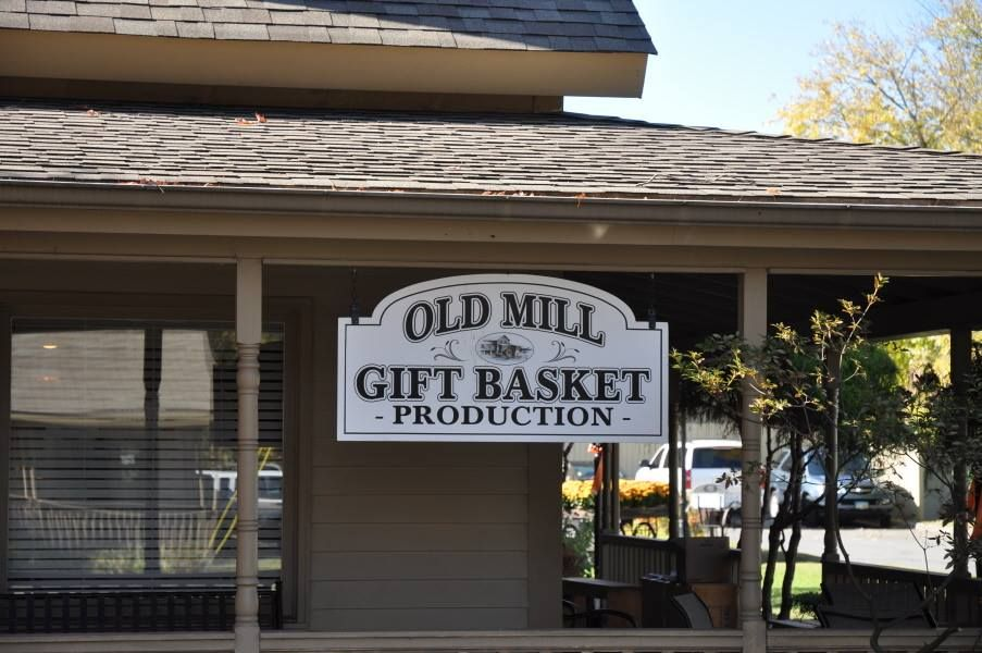 Old Mill Gift Basket Company With Images Pigeon