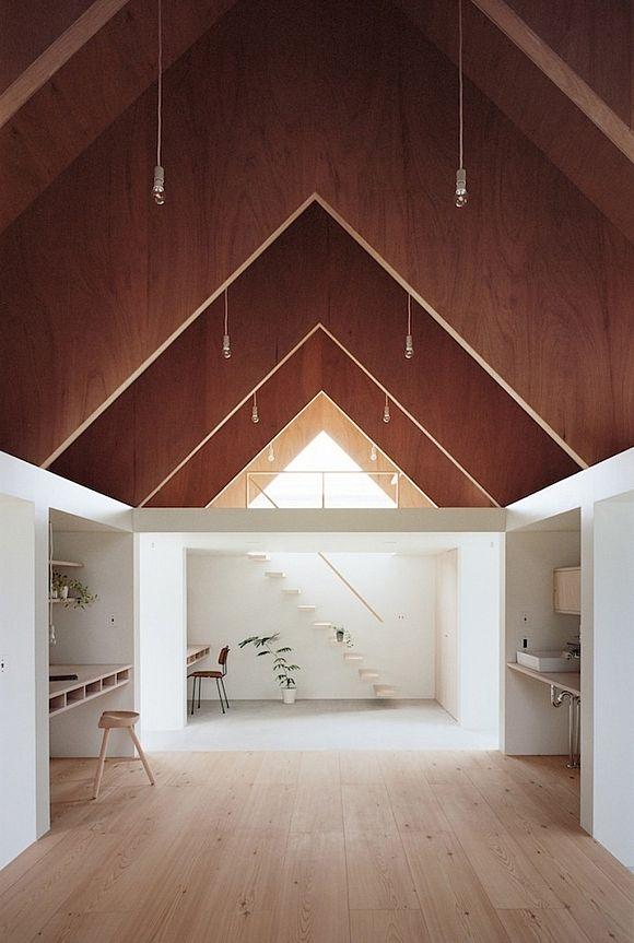 Japanese House Extension With Atrium Minimalist House Design Minimalism Interior Minimal Interior Design