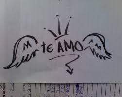 One Direction Te Amo Dibujo Graffitis De Amor Imagenes De Te Amo