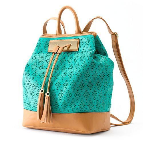 Apt. 9® Laser-Cut Sling Backpack | Style for Her | Pinterest ...