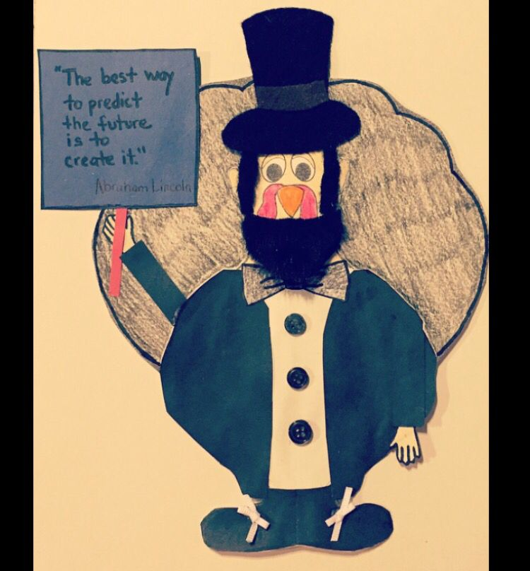 Disguise A Turkey As Abraham Lincoln Turkey Disguise Project