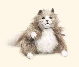 Fluffy Cat Hand Puppet Fluffy Cat Hand Puppets Crazy Cats