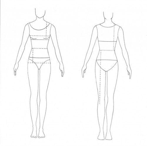 I Draw Fashion - Fashion Drawing Templates Tutorials 30