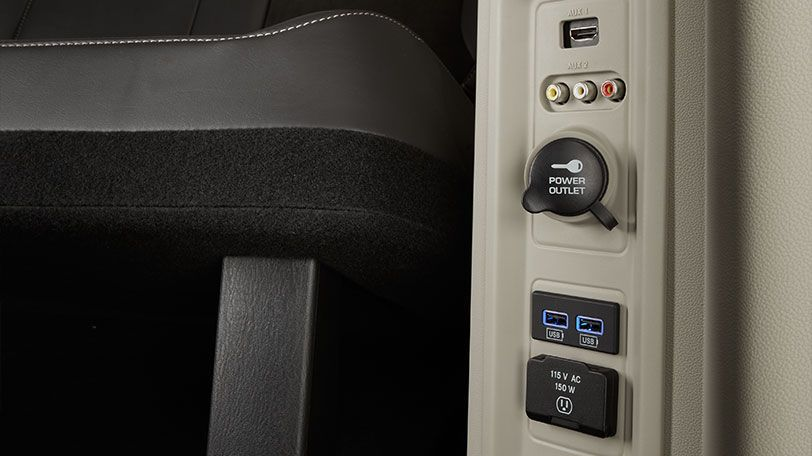 The Chrysler Town Country Limited Shown With Standard Hdmi