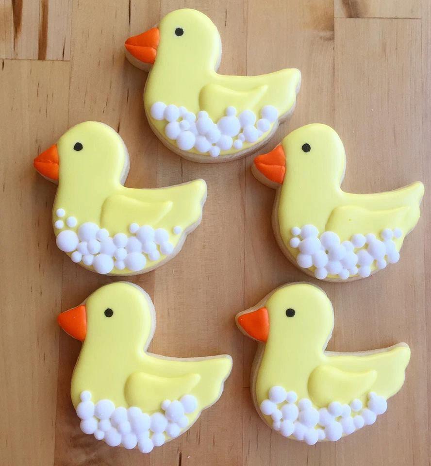 Baby Shower Rubber Duck Cookies   Baby Shower Duck Theme   Pinterest ...