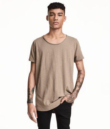 H&M Raw-edge T-shirt $12.99