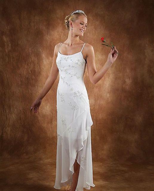 Beach Wedding Dresses Casual Top Of Modern Fashion Trend