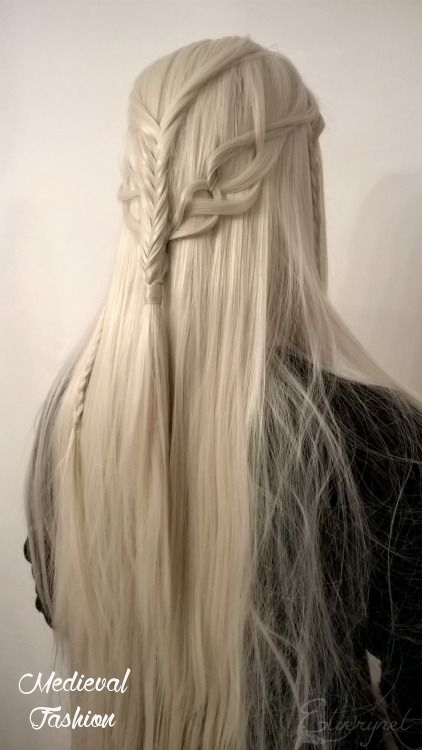 Amazing Elven Hairstyle All Things Fantasy Magical