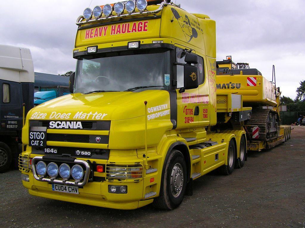 Scania T-Cab V8 580