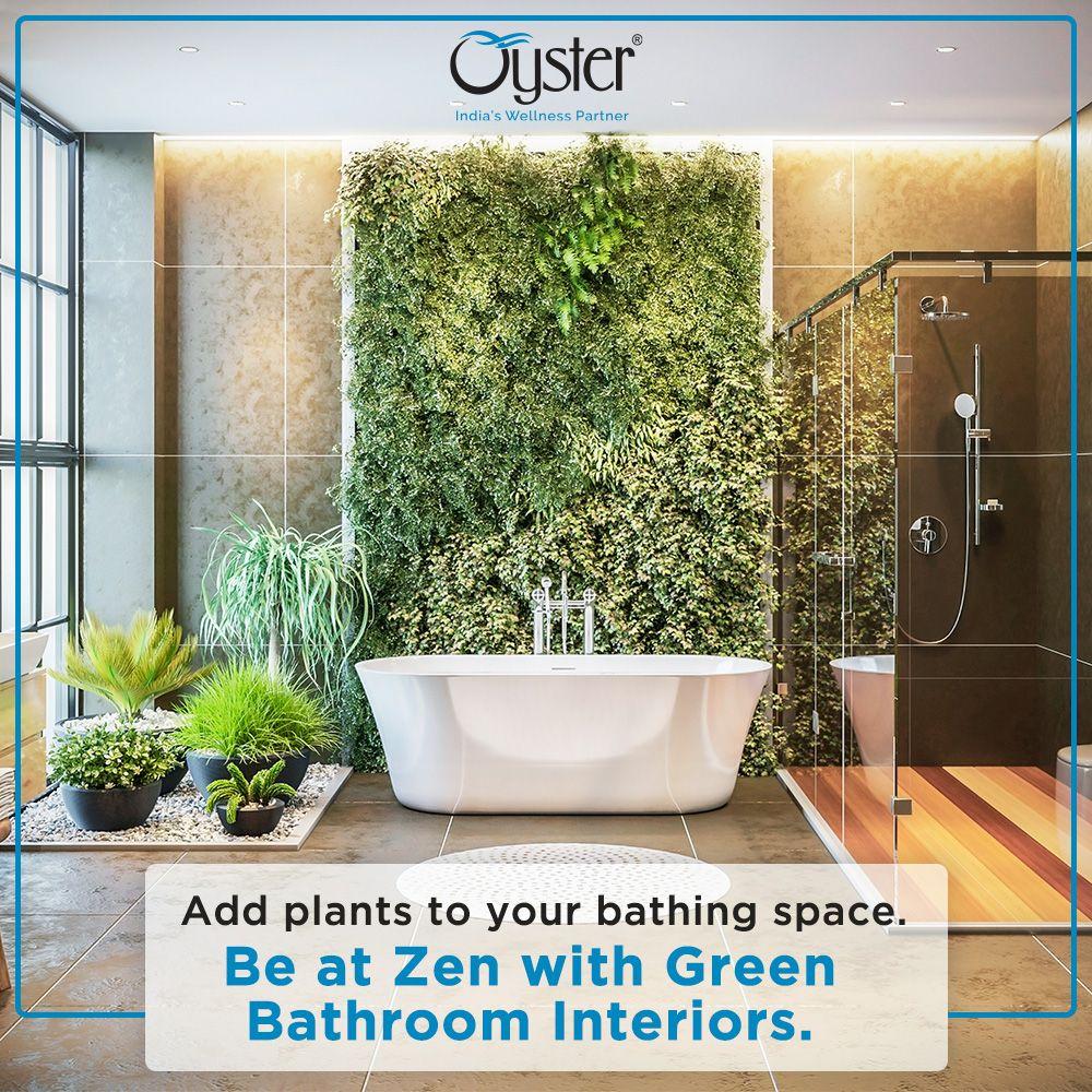 Oyster Bath Concepts Green Bathroom Interior Green Bathroom Jacuzzi Bath