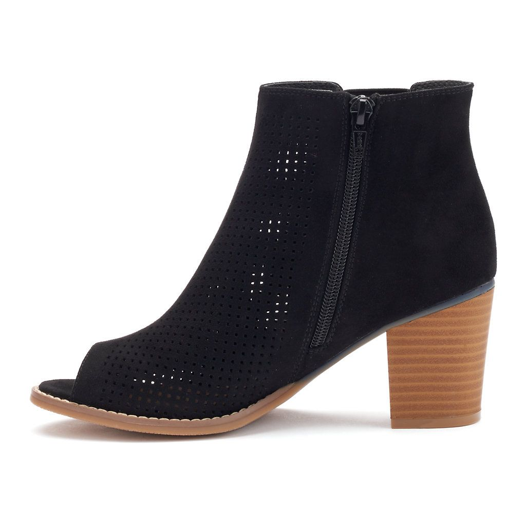 7615a23702e96 SONOMA Goods for Life™ Tola Women s Block Heel Ankle Boots