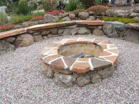 28 Outdoor Fire Pit Seating Design Ideas for Backyard #firepitideas