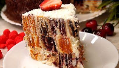 Необыкновенный праздничный торт: удивите всех   Идеи для ...