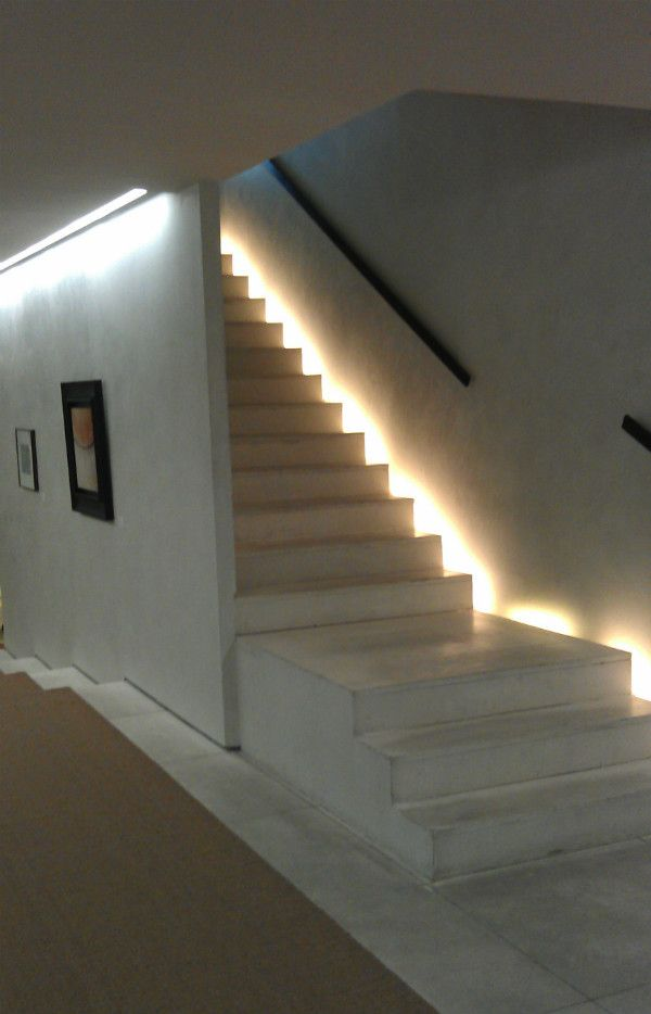Recessed Staircase Lighting Kuća In 2019 Stairway