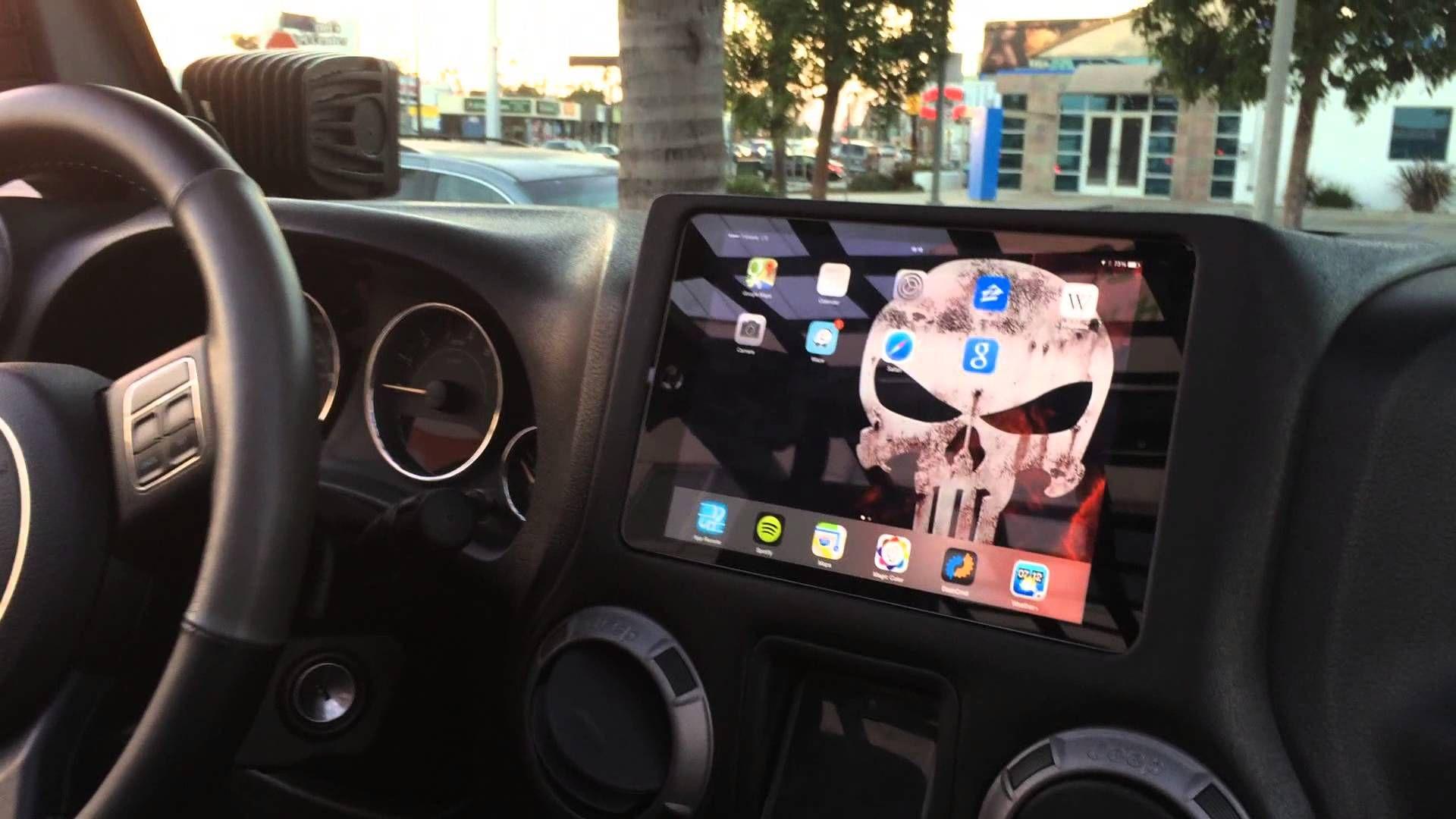 Jeep Punisher Edition Ep 48 Custom Ipad Mini Slider Kit Installed