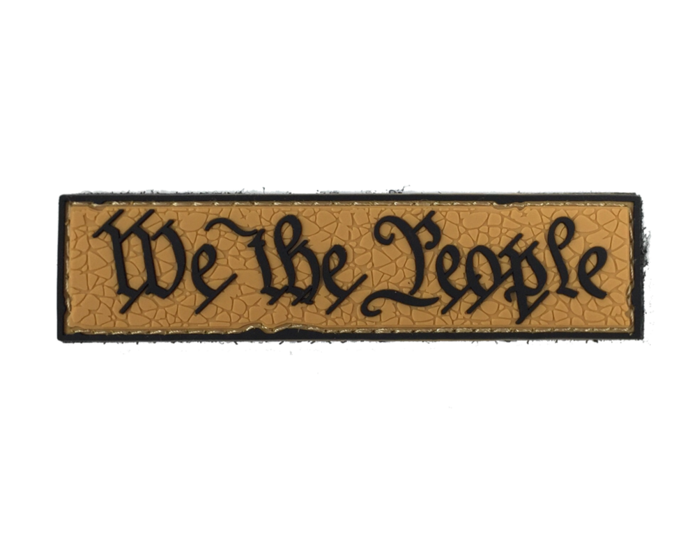 We The People Pvc Rubber Morale Patch Empire Tactical Usa Morale Patch Patches We The People