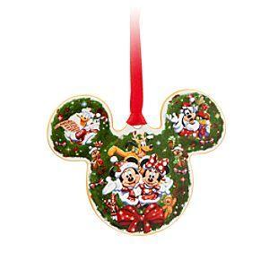 Mickey Mouse Ceramic Ornament Walt Disney World Disney Christmas Ornaments Christmas Ornaments Christmas Tree Ornaments