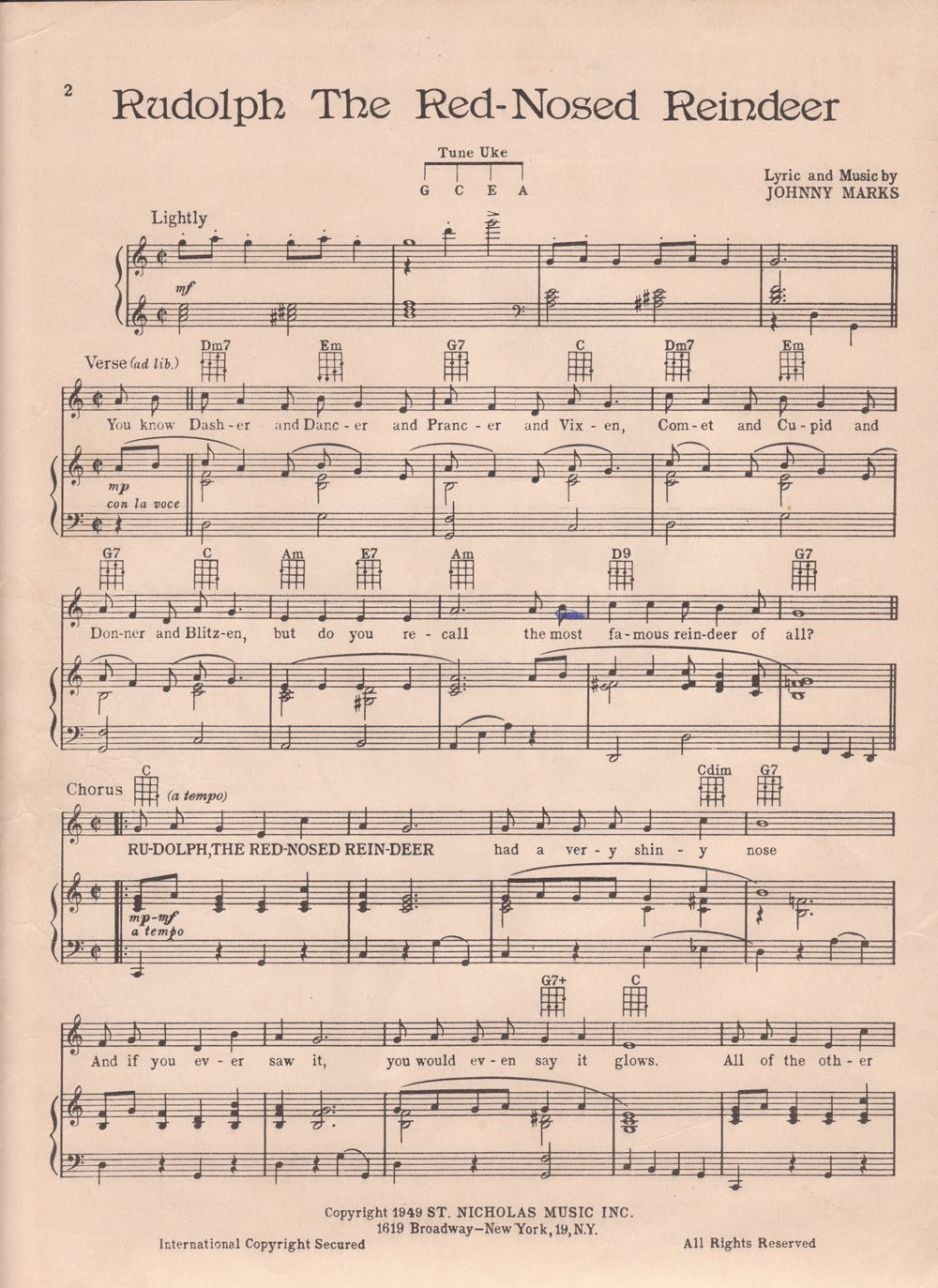 This is a photo of Genius Free Printable Christmas Sheet Music for Piano